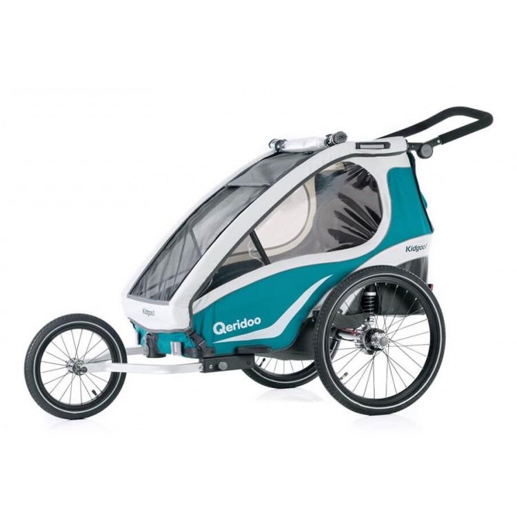 Multifunkční dětský vozík Qeridoo KidGoo 2 2019 Aquamarin