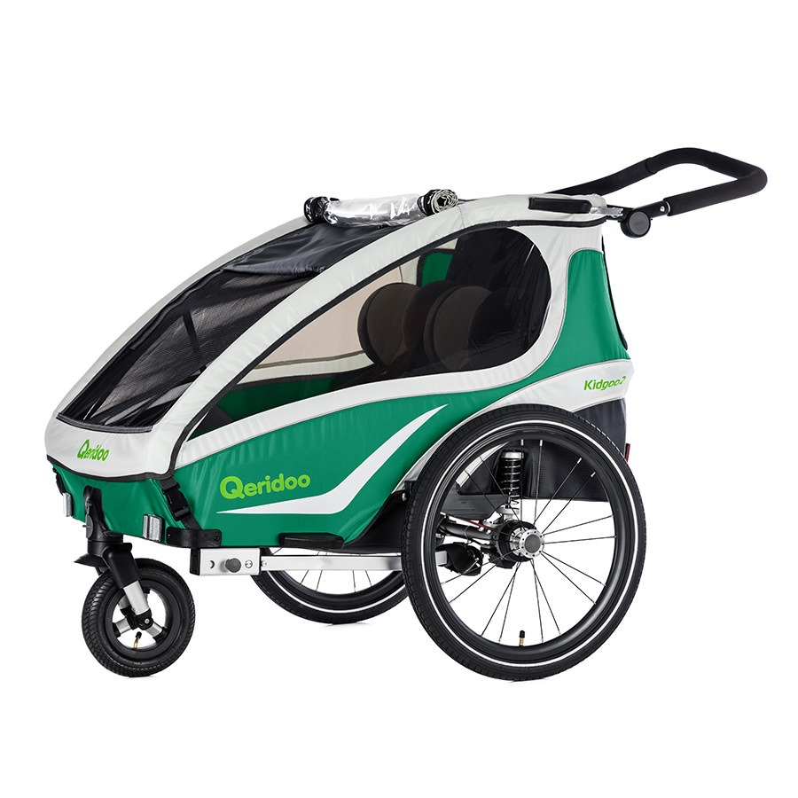 Multifunkční dětský vozík Qeridoo KidGoo 1 2019 zelená