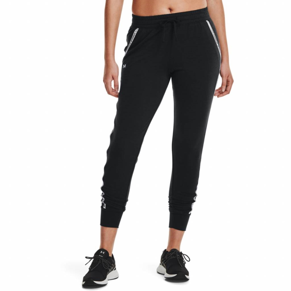 Under Armour Rival Terry Taped Pant Black - XS