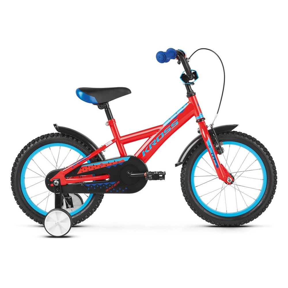 Kross Racer 30 16  model 2019 Red  Blue Glossy