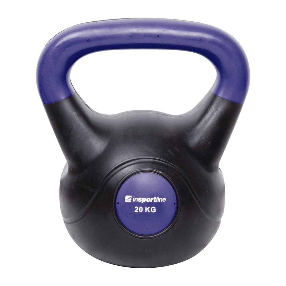 Činka inSPORTline Vin-Bell Dark 20 kg