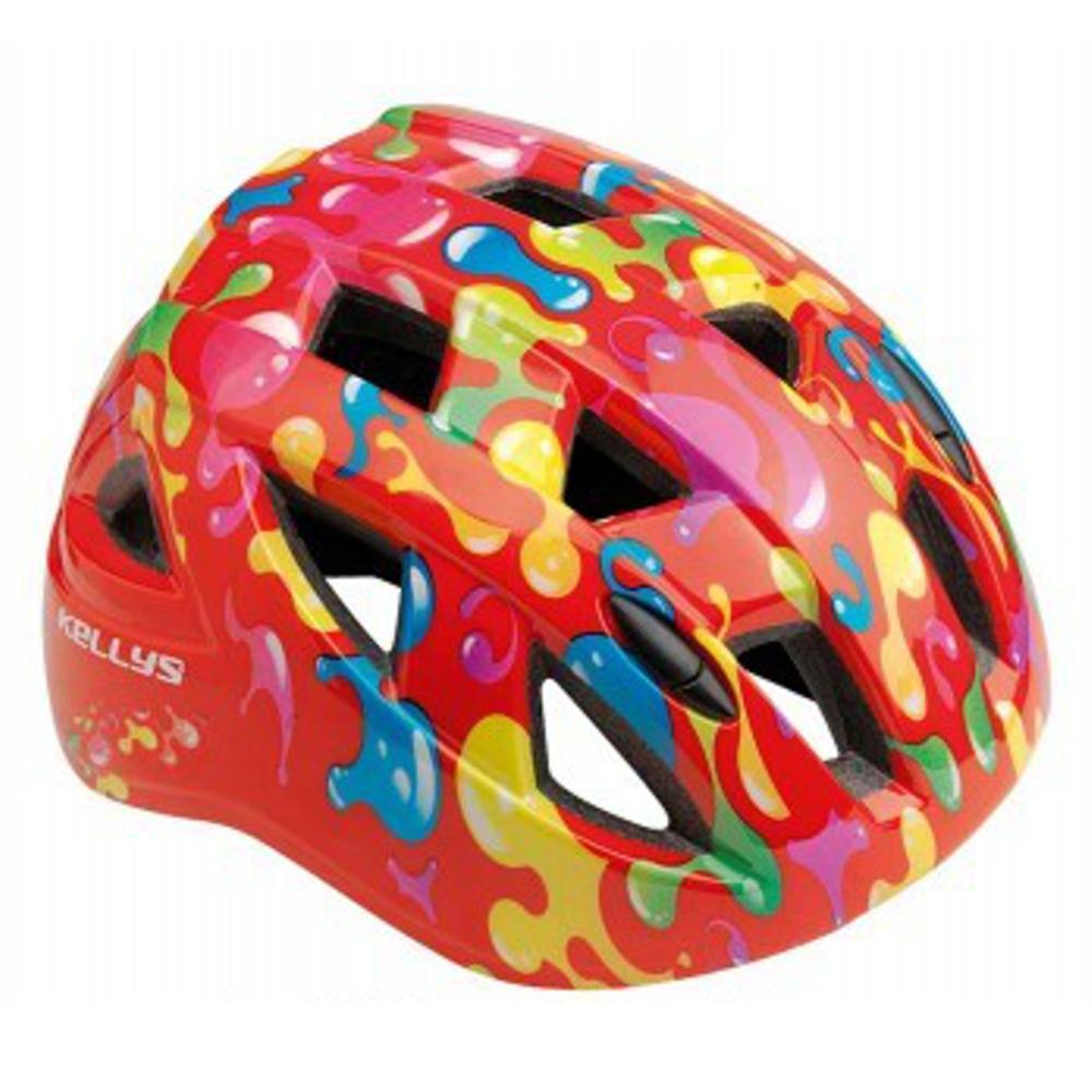 Dětská cyklistická přilba KELLYS Smarty červená - S (51-54)