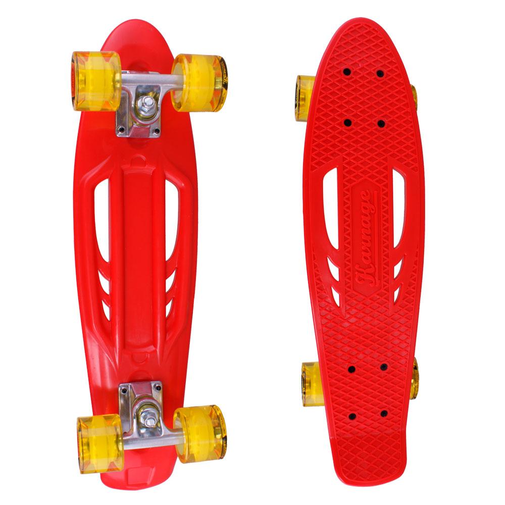 Penny board Karnage Standard Retro červeno-žlutá