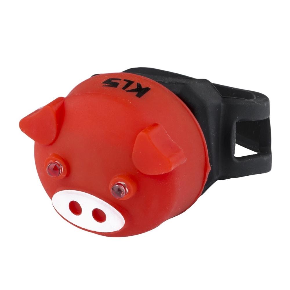 Světlo zadní Kellys Piggy Red