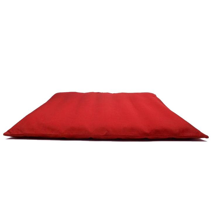 Meditační podložka ZAFU Zabuton červená