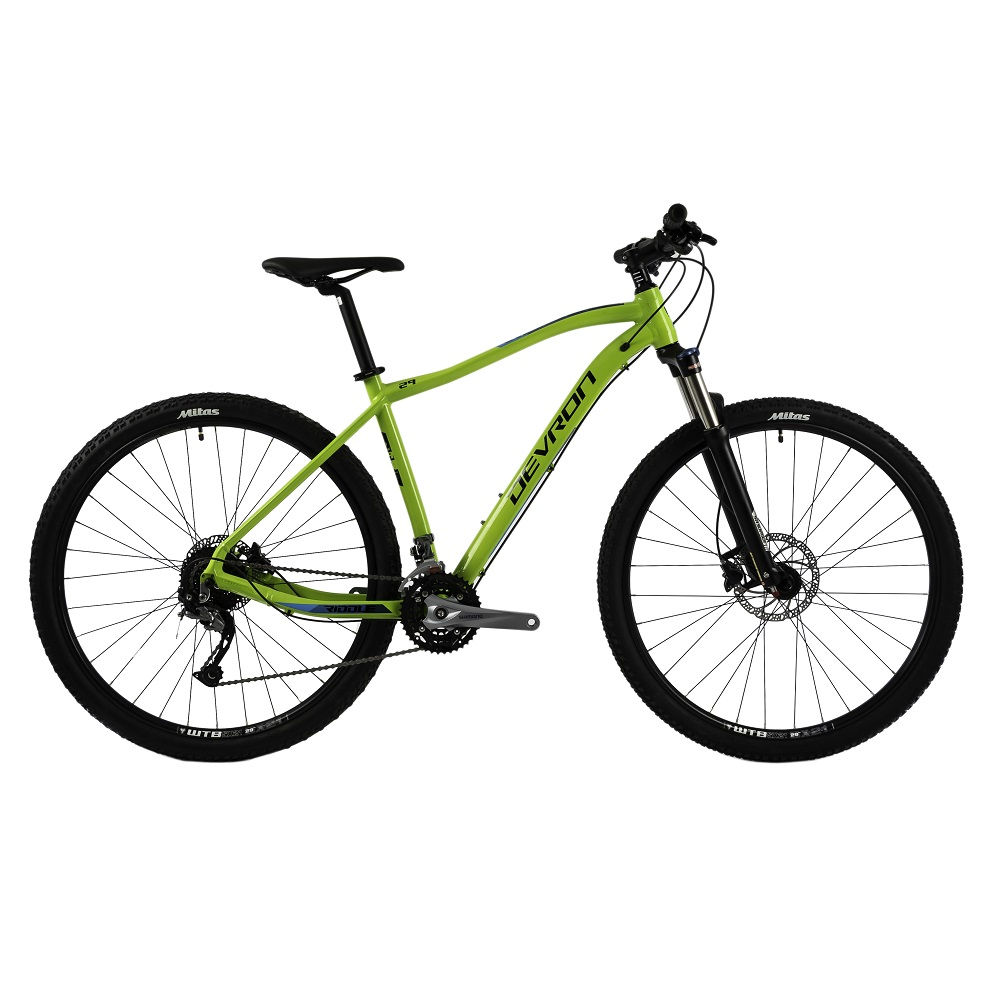 "Horské kolo Devron Riddle H2.9 29"" - model 2018 Green - 19"" - Záruka 10 let"