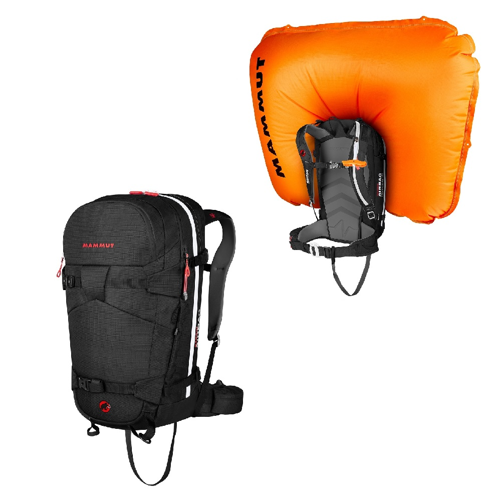 Lavinový batoh Mammut Ride Removable Airbag 3.0 30l Black