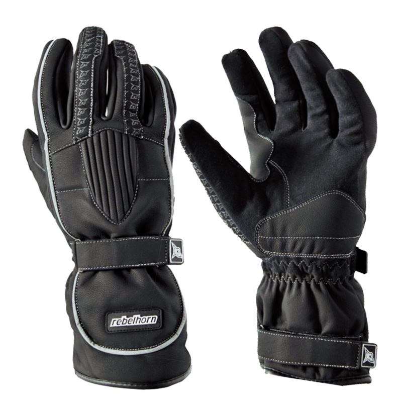 Moto rukavice Rebelhorn COMFORT černá - S