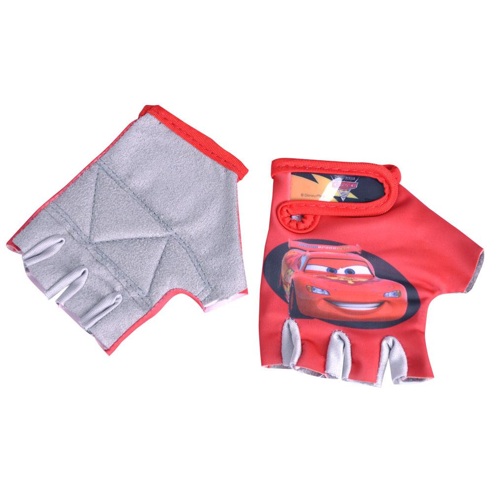 Dětské cyklo rukavice Disney Cars červená