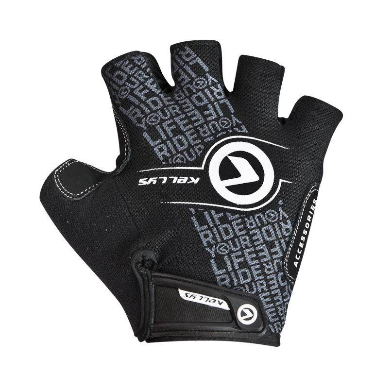 Cyklo rukavice KELLYS COMFORT NEW černo-bílá - XS