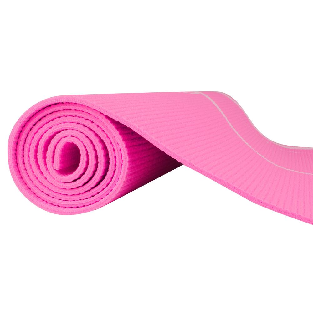 Karimatka Spartan Yoga 170x60x0,4 cm růžová