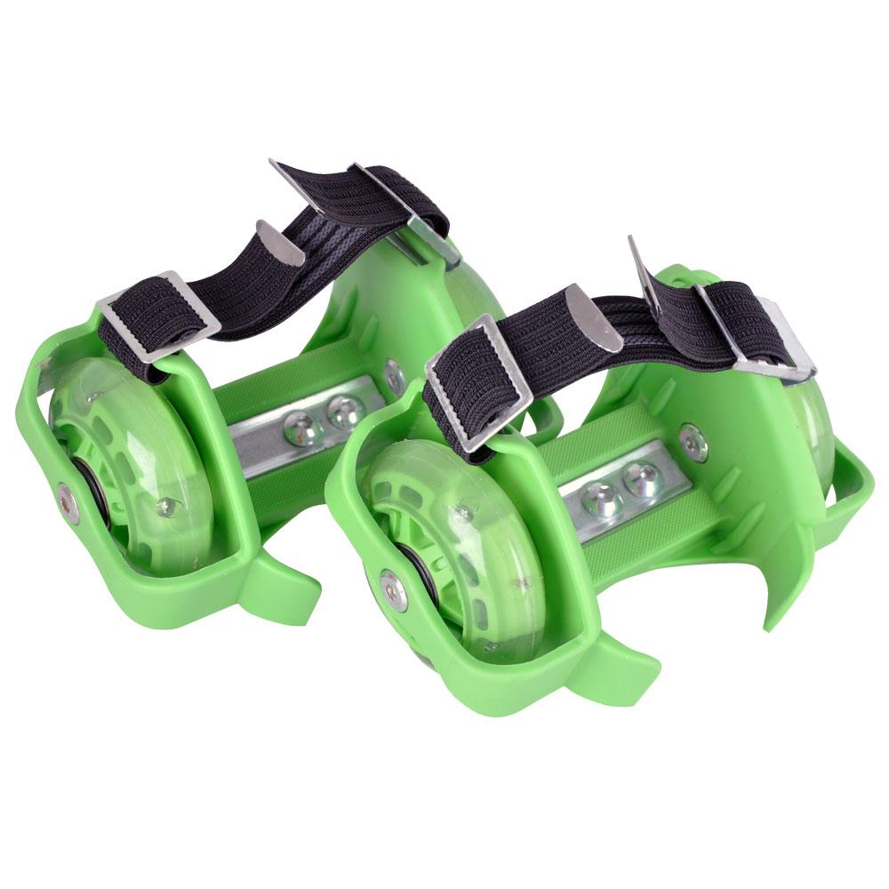 Svítící pata WORKER Flyheel zelená