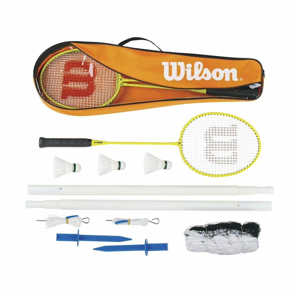 Badmintonový set Wilson pro 4 osoby se sítí