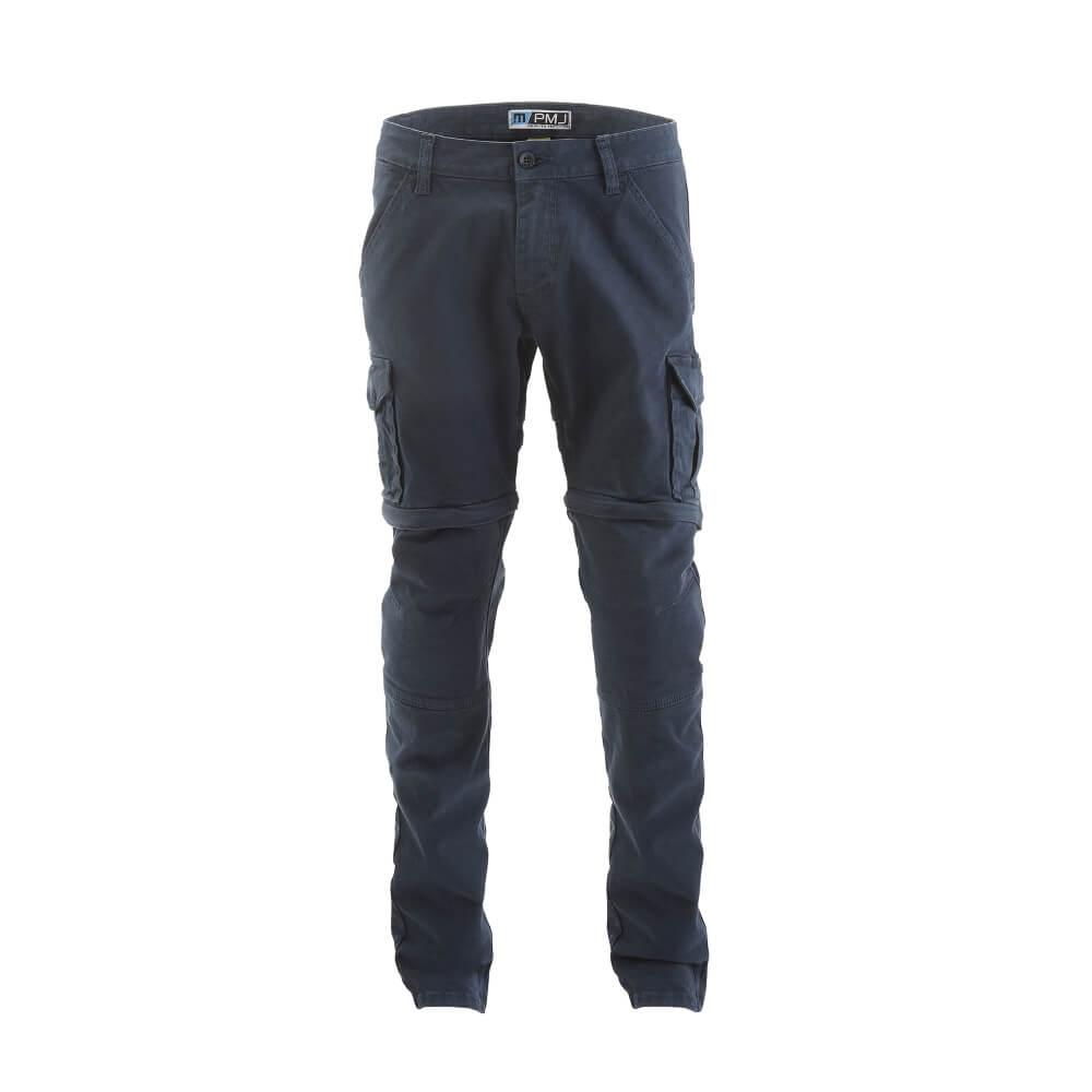 Pánské moto kalhoty PMJ Santiago Zip modrá - 30