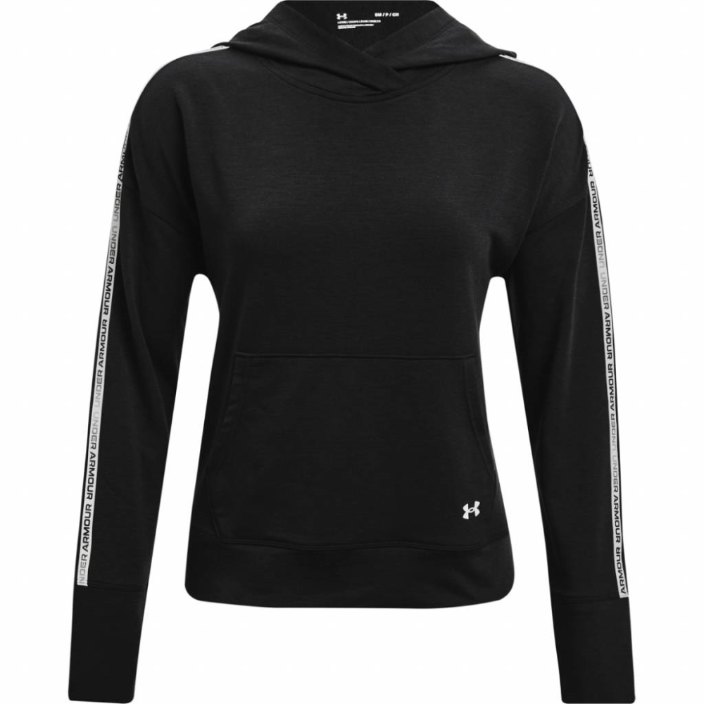 Under Armour Rival Terry Taped Hoodie Black - XS