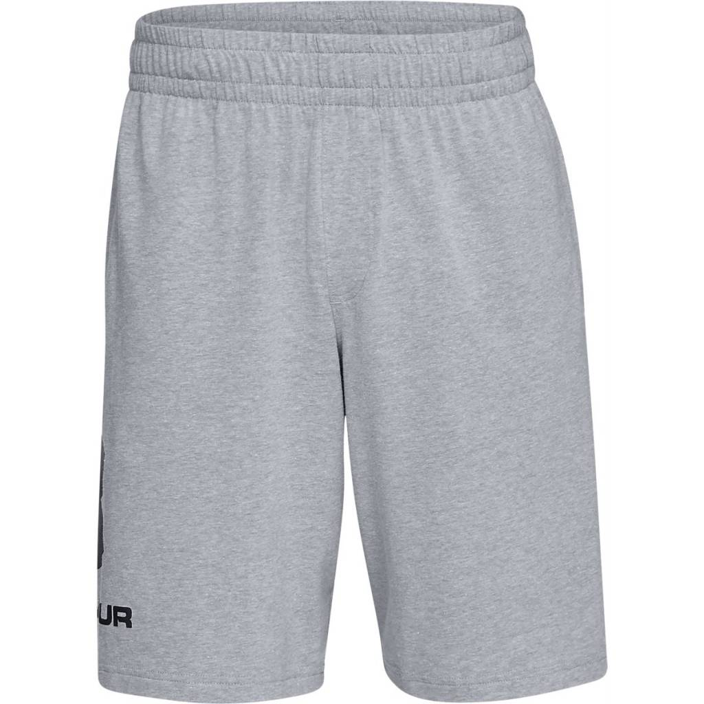 Under Armour Sportstyle Cotton Graphic Short Steel Light Heather - S