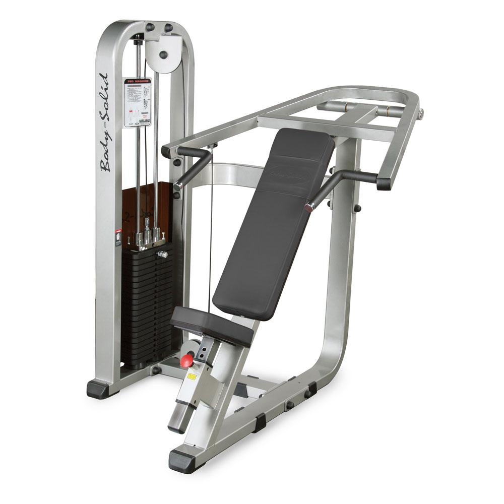 Posilovací stroj - hrudní svaly a paže Body-Solid SIP-1400G/2 - Záruka 10 let + Montáž zdarma + Servis u zákazníka