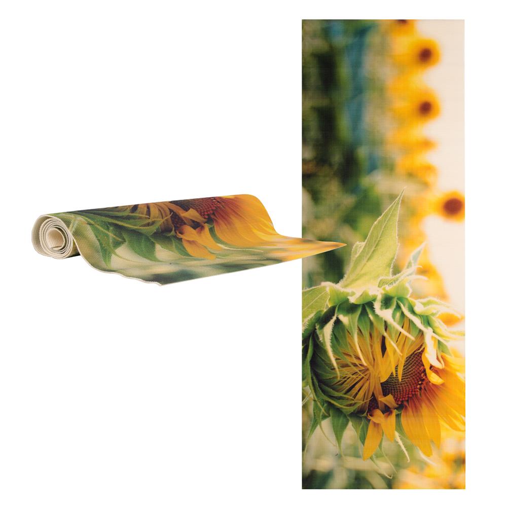 Jóga podložka inSPORTline Medita flower