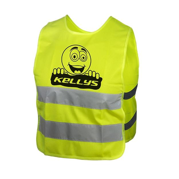 Dětská reflexní vesta Kellys Starlight Smajlík - XS
