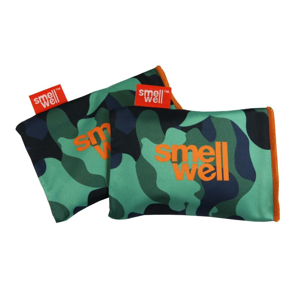 SmellWell Active Camo Green