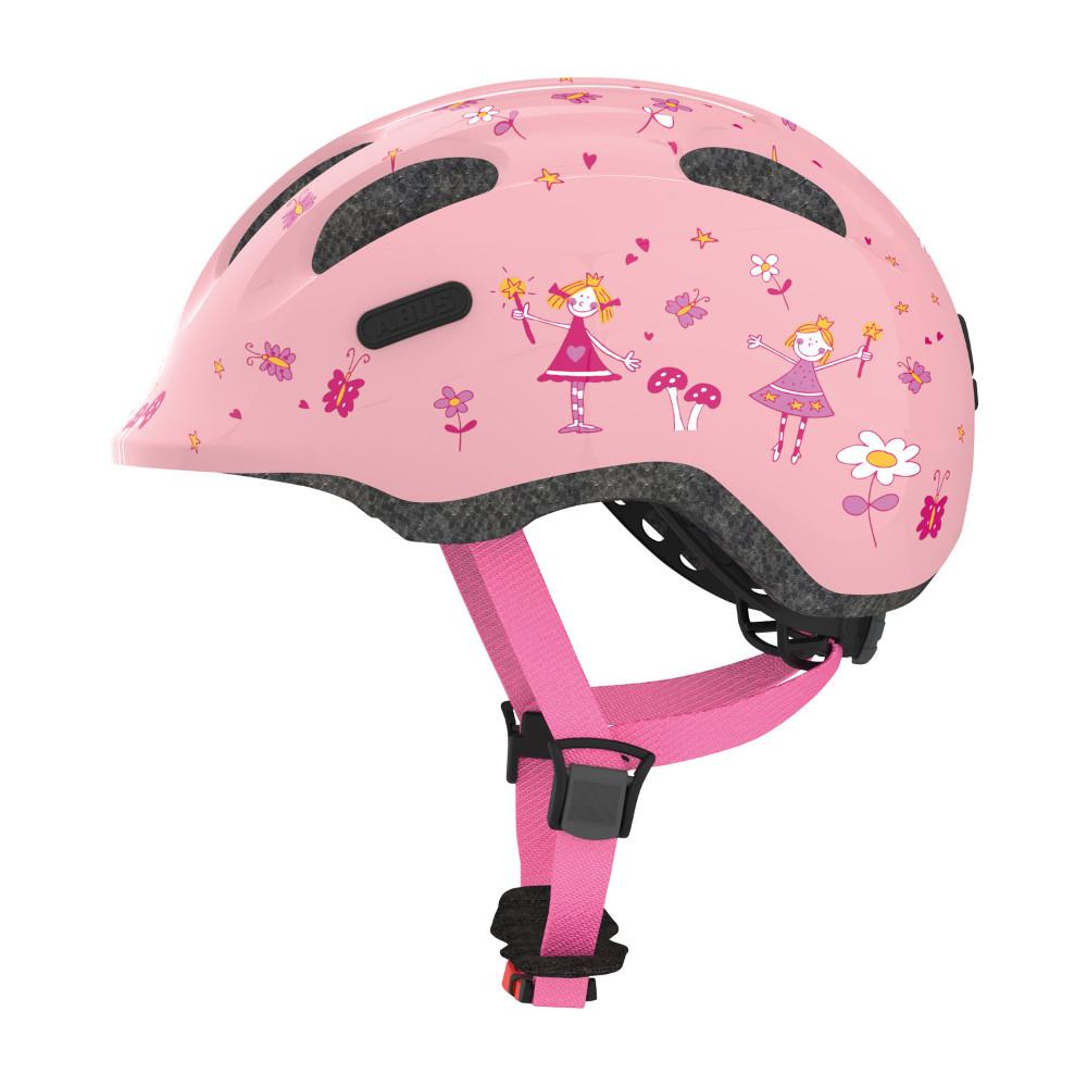 Dětská cyklo přilba Abus Smiley 2.0 Rose Princess - S (45-50)