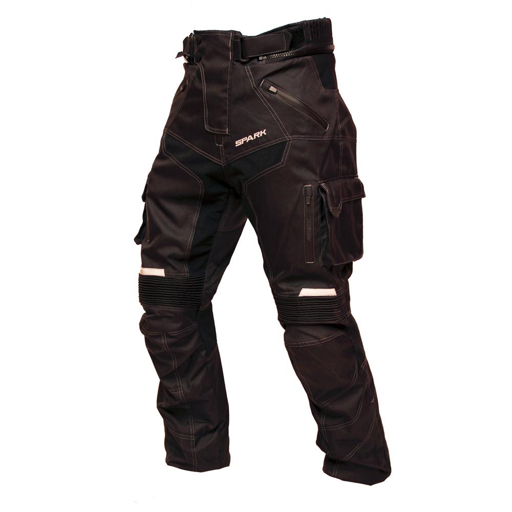 Pánské moto kalhoty Spark Pero černá - M