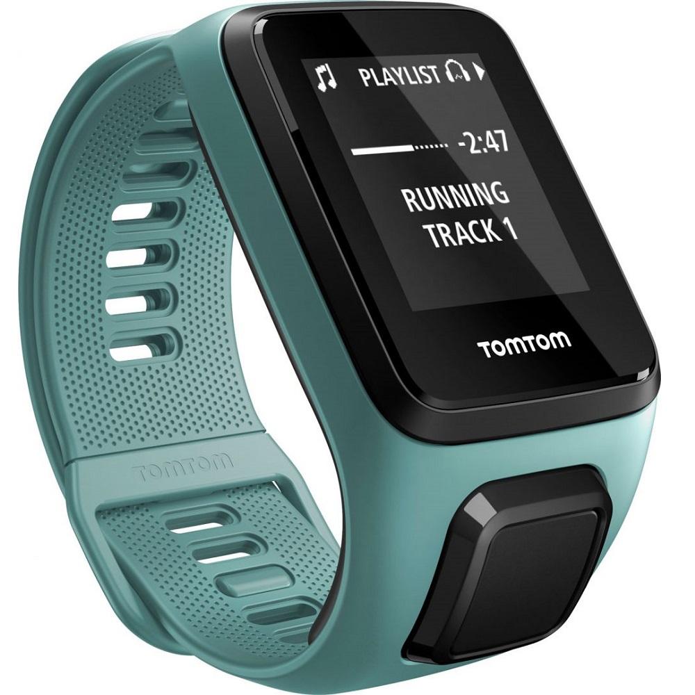 GPS hodinky TomTom Spark 3 Aqua - S (121-175 mm)