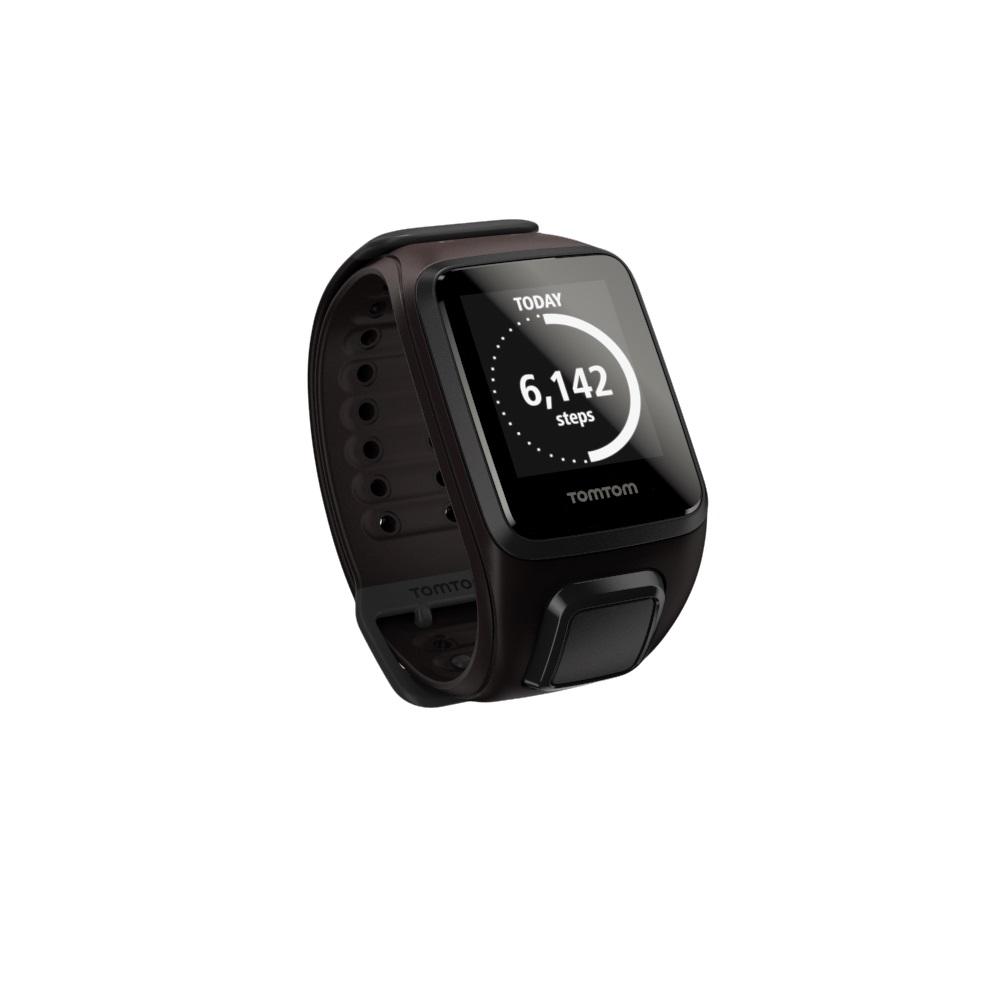 GPS hodinky TomTom Spark Fitness hnědá - L (143-206 mm)