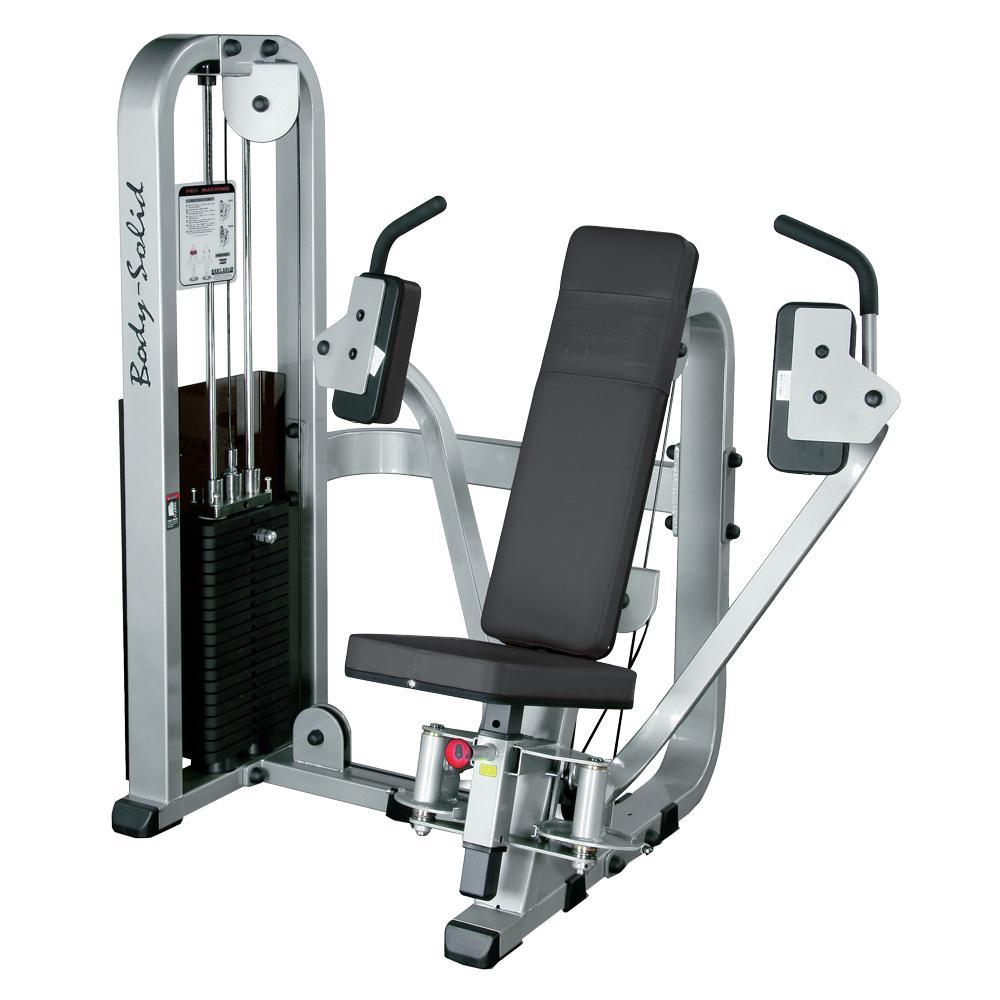 Posilovač prsních svalů a paží Body-Solid SPD-700G/2 - Montáž zdarma + Servis u zákazníka + Záruka 5 let