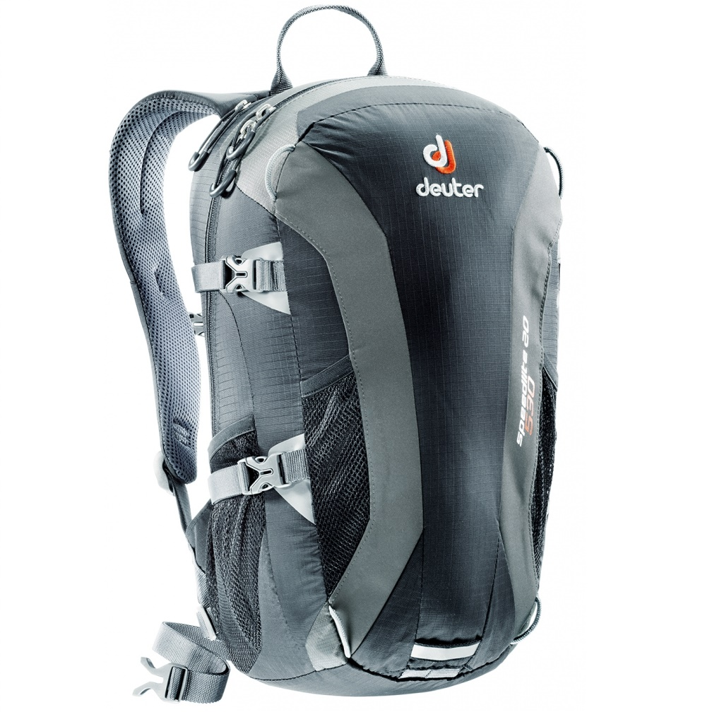 Horolezecký batoh DEUTER Speed Lite 20 2016 černo-šedá