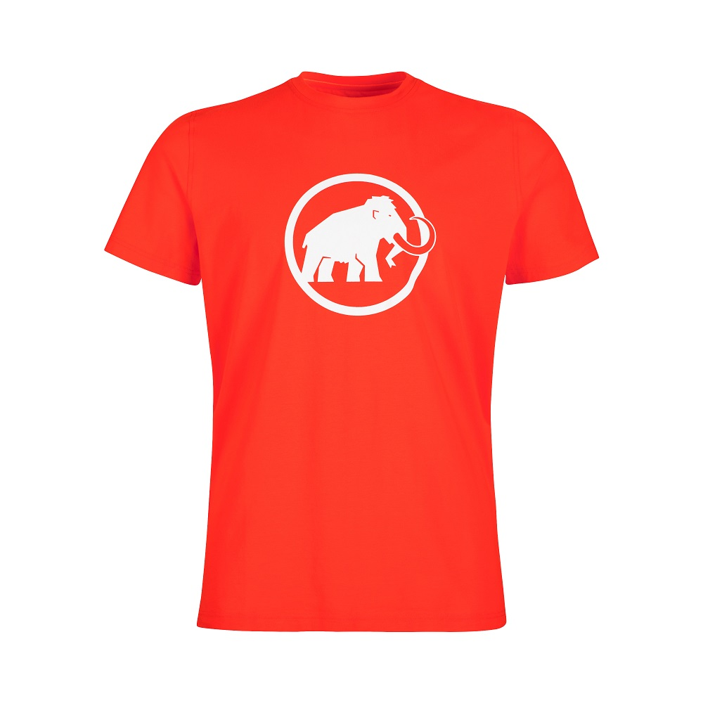 Mammut Logo T-Shirt Men Spicy - M