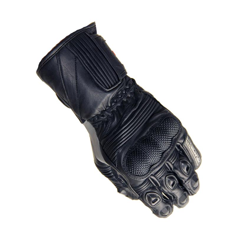 Kožené moto rukavice Spark Modena - černo-šedá. Kožené moto rukavice ... be1c967249