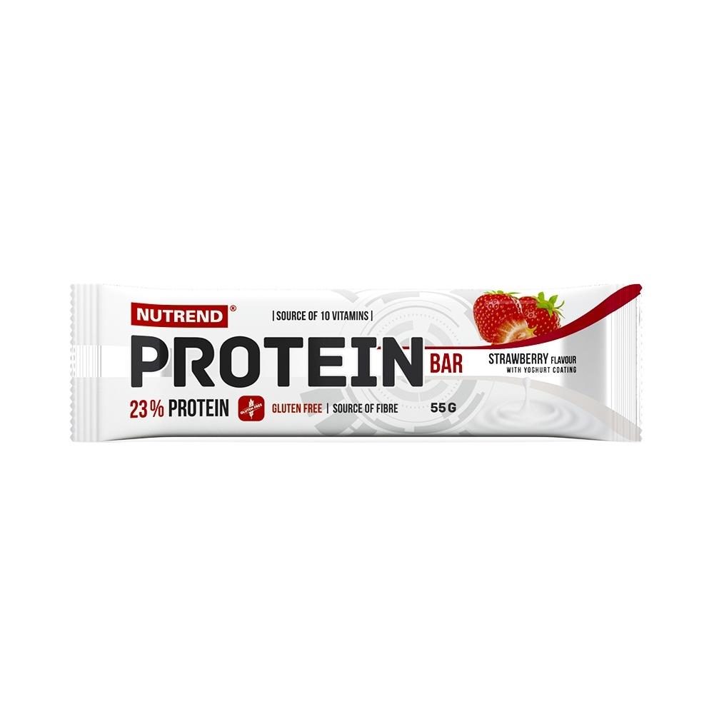 Proteinová tyčinka Nutrend Protein Bar 55g Jahoda