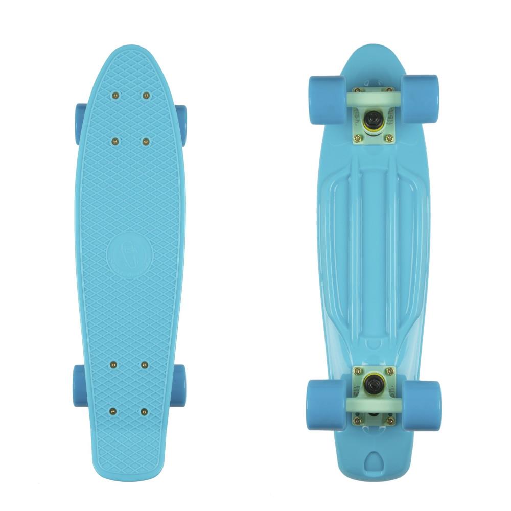 "Penny board Fish Classic 22"" Summer Blue-Summer Green-Summer Blue"