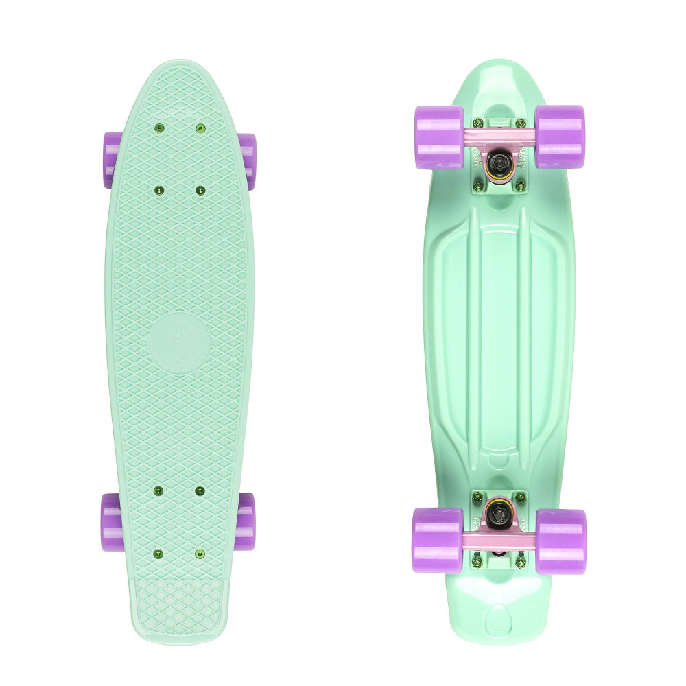 "Penny board Fish Classic 22"" Summer Green-Green Purple-Summer Purple"