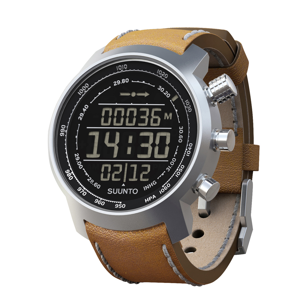 Outdoorový computer Suunto Elementum Terra N/ Brown leather