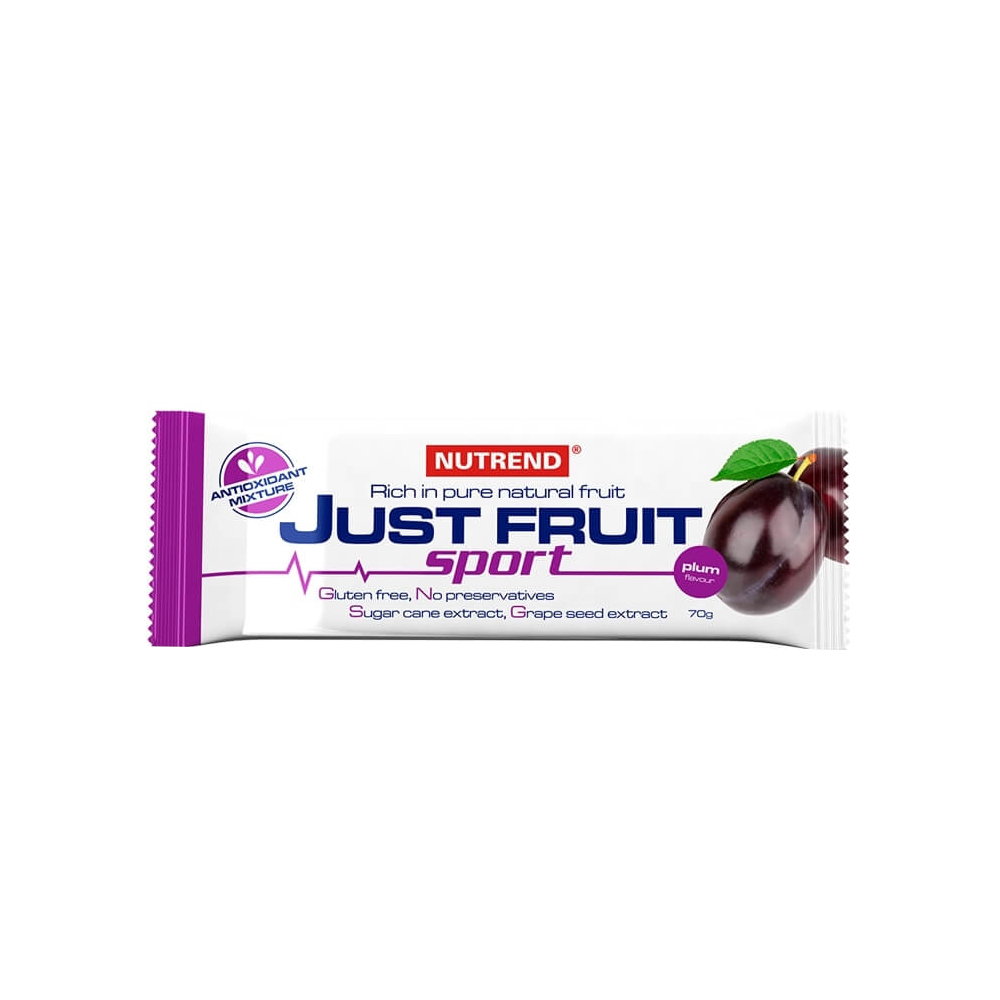 Nutrend Just Fruit Sport 70 g švestka