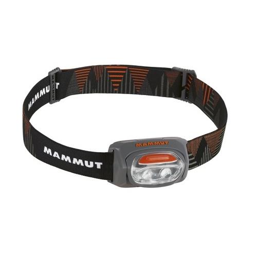 Čelová svítilna MAMMUT T-Base šedo-černá