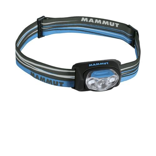 Čelová svítilna MAMMUT T-Peak modro-černá