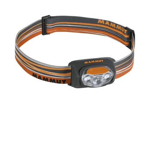 Čelová svítilna MAMMUT T-Peak oranžovo-šedá
