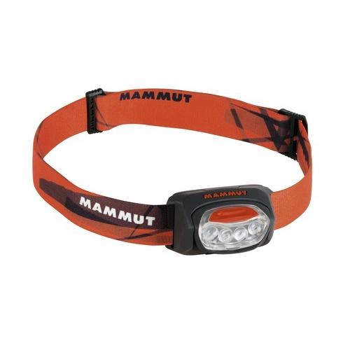 Čelová svítilna MAMMUT T-Trail černo-oranžová