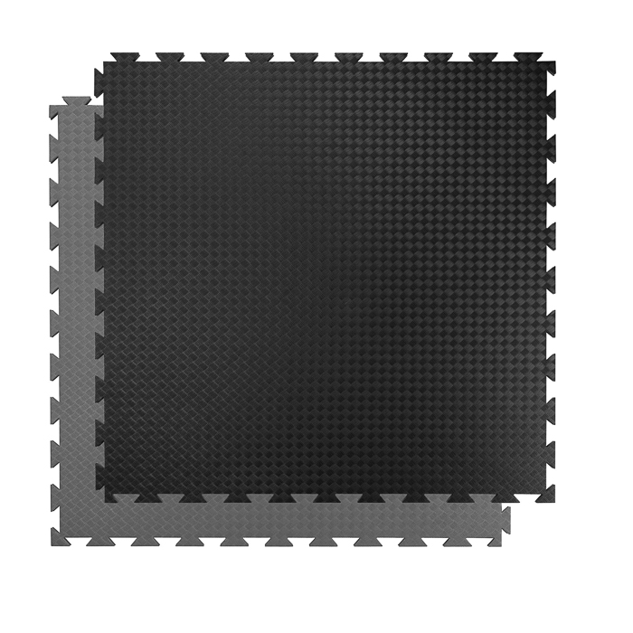 Puzzle podložka Spartan Exercise Matte 100x100x2 cm Black/Grey