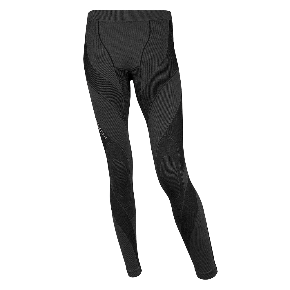 Dámské thermo kalhoty extreme Brubeck MERINO dlouhé černá - M