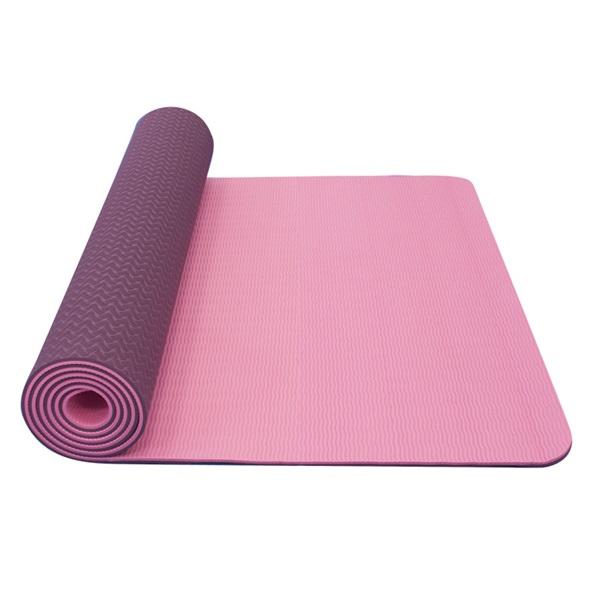 Dvouvrstvá podložka Yate Yoga Mat TPE New