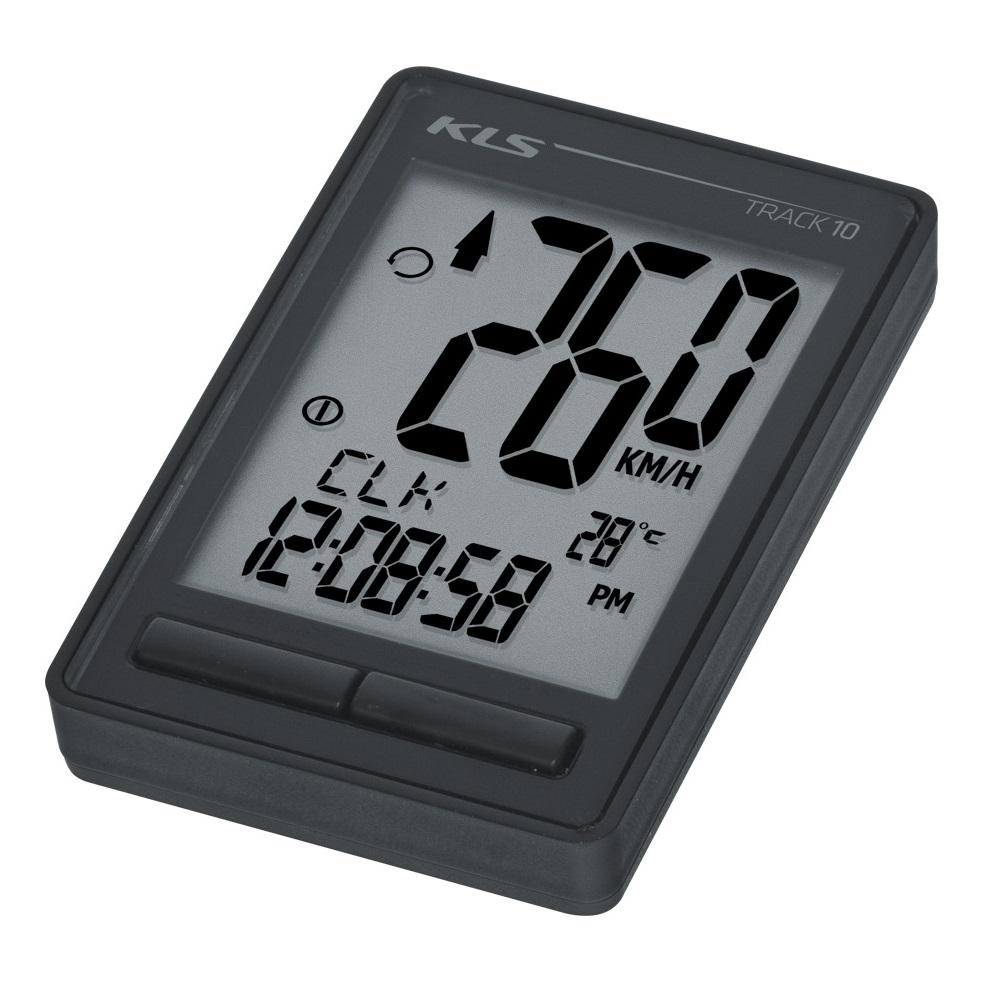 Cyklocomputer Kellys Track 10 černá