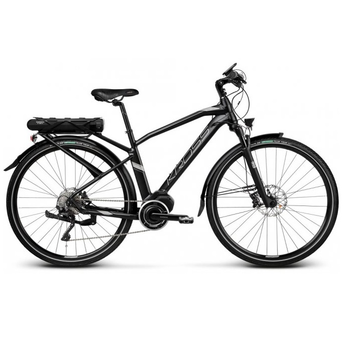 Kross Trans Hybrid 50 28  model 2019 Black  Graphite Matte  S 17