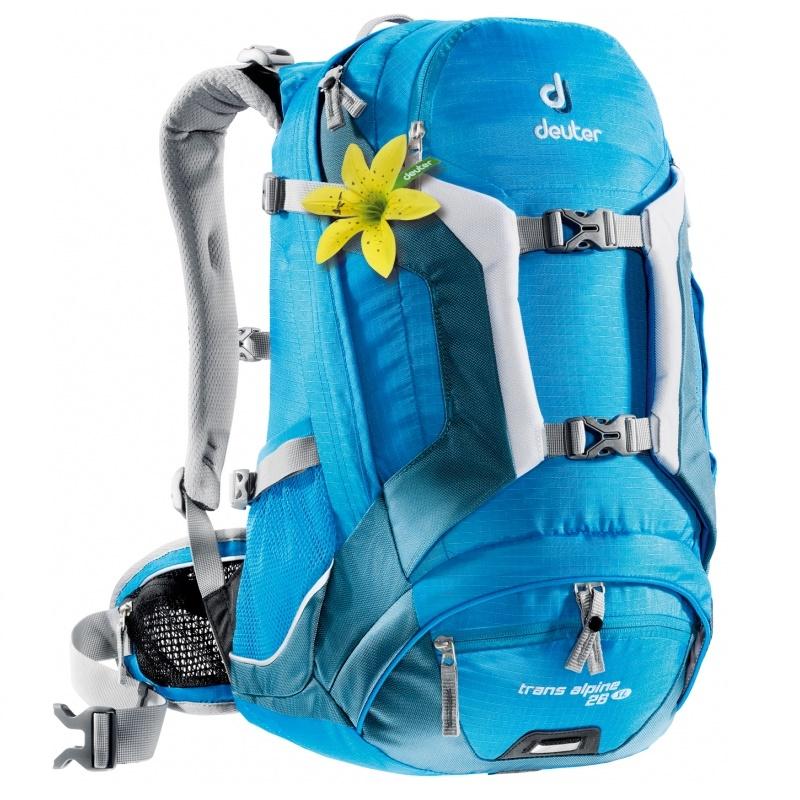 Cyklistický batoh DEUTER Trans Alpine 26 SL 2016 světle modrá