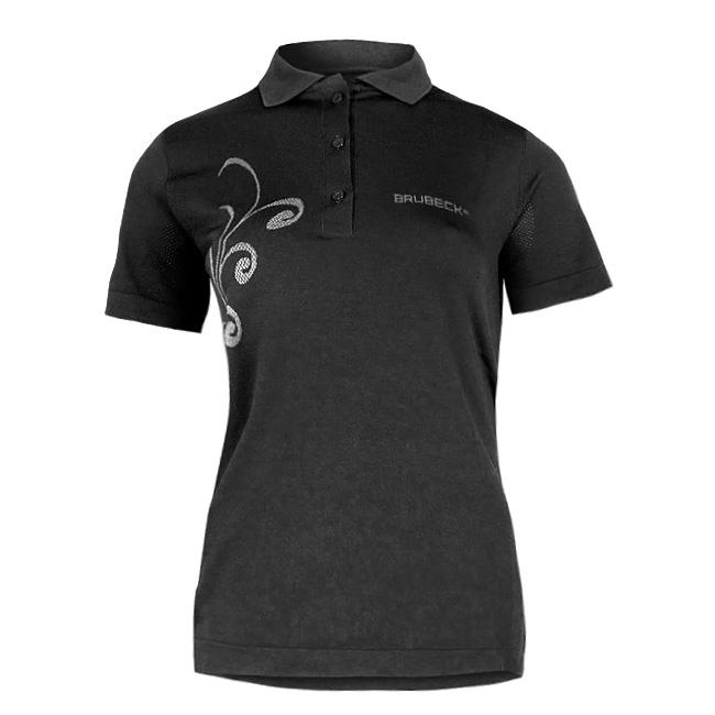 Dámské thermo tričko Brubeck PRESTIGE s límečkem