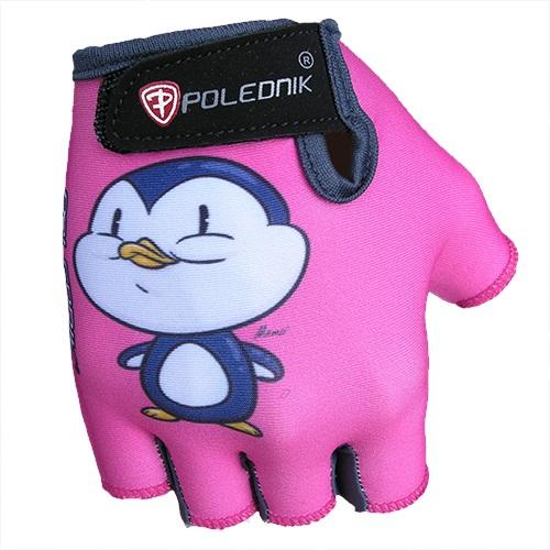 Dětské cyklo rukavice POLEDNIK Baby New tučňák - 3