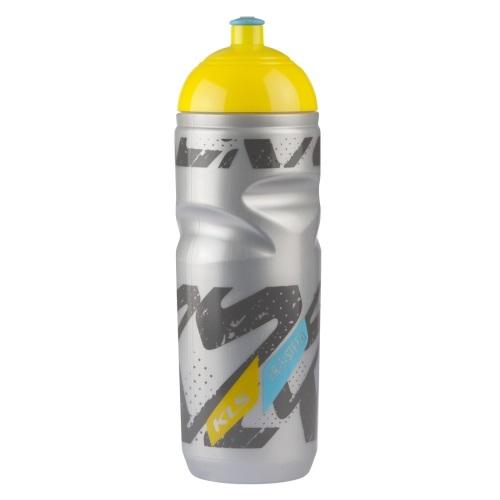 Cyklistická termo láhev Kellys Tundra stříbrno-žlutá